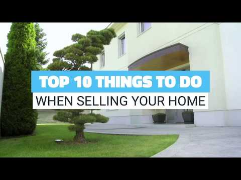Top 10 things to do when selling your home