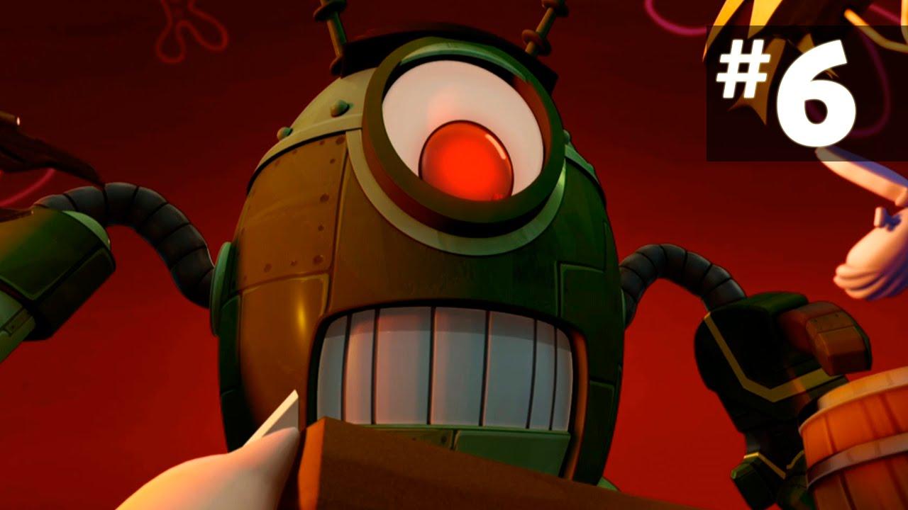 Игра губка боб планктон с роботами сын эвелины бледанс фото сейчас