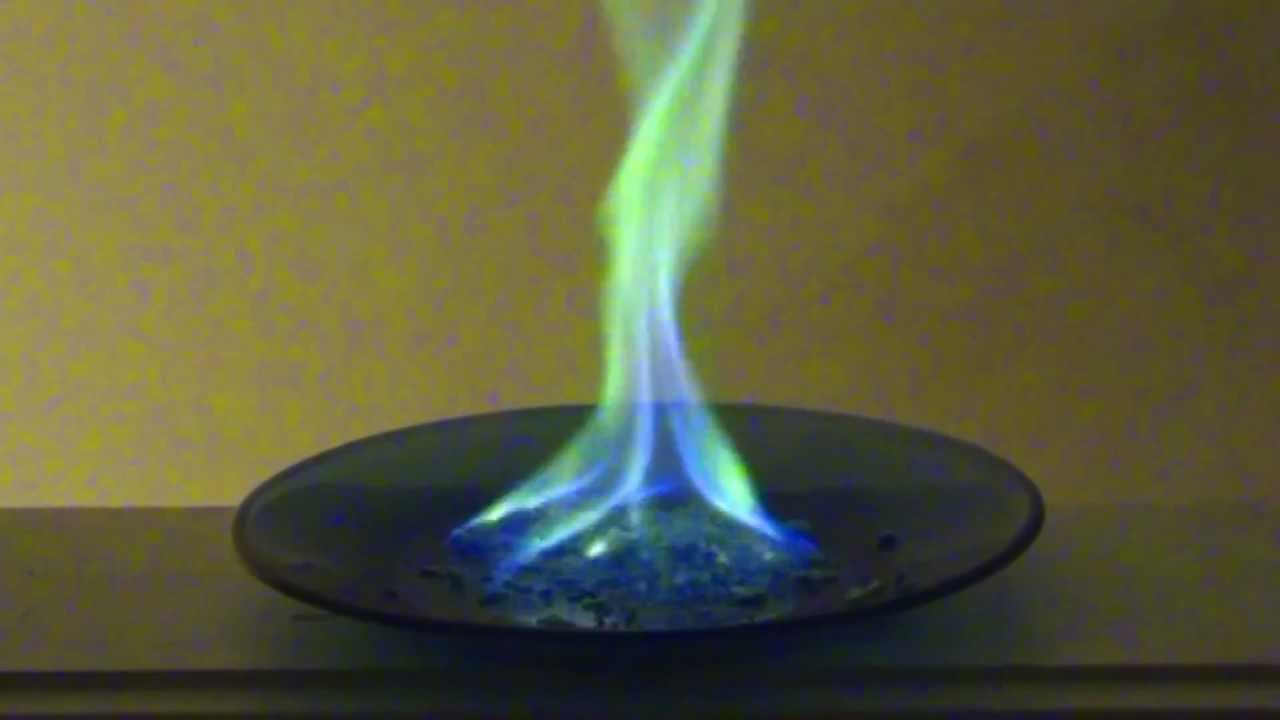 Make Green Fire or Flames - YouTube