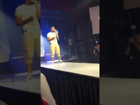 Canadian artist Blow_Flyy Rawartists Performance ModClub 2019(very short clip)
