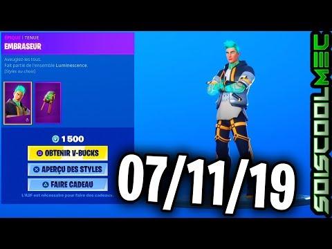 boutique-fortnite-07-novembre-2019,-nouveau-skins,-item-shop-november-07,-2019