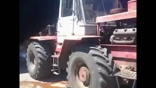 Т-150К Забитий радіатор, промивка