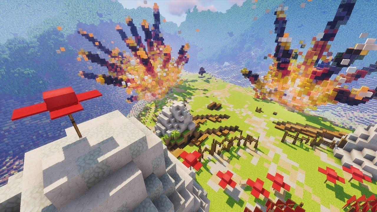 Japanese Battle Scene in Minecraft - Update Video #37