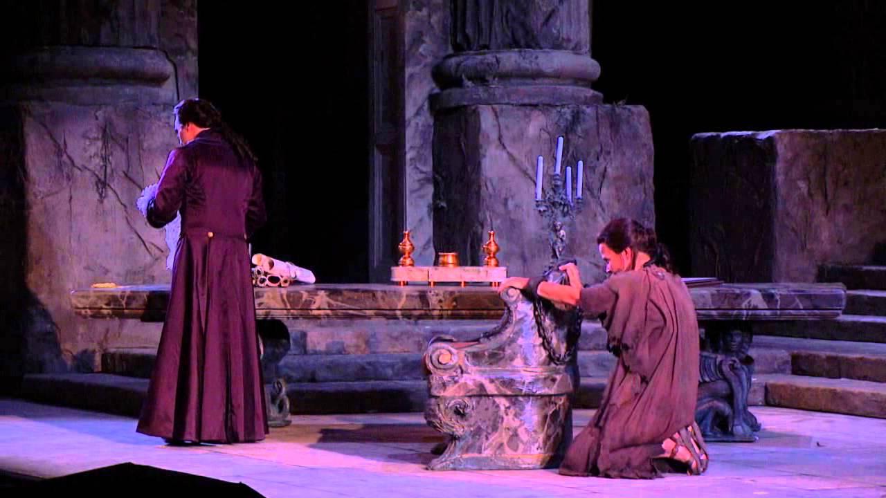 """La Clemenza di Tito: """"Deh, per questo istante solo"""" -- Elīna Garanča (Met Opera)"""