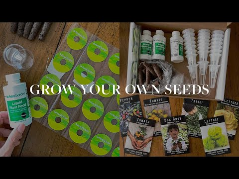 How to Grow ANYTHING with Aerogarden (use your own seeds)
