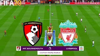 FIFA 20 | Bournemouth vs Liverpool - 19/20 Premier League - Full Match & Gameplay