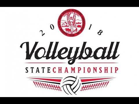 KSHSAA 6A volleyball final