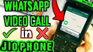 jio phone video call: Can you do Whatsapp video call in jio phone | Jio phone video call(100% Truth)