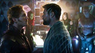 Передразниваешь меня? А может ты меня? Тор и Стражи Галактики | Мстители: Война бесконечности