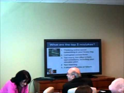 Secrects to Effective Business Networking Part 1 March 29 2012 Chesapeake VA