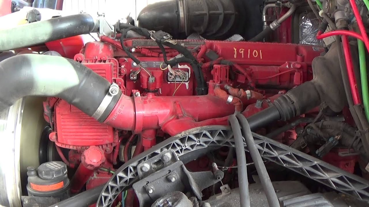 2010 Cummins Isx 400hp Youtube
