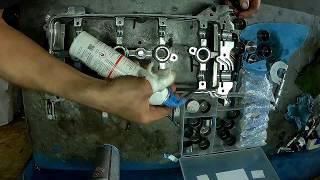 Ніссан Кашкай 2.0 регулювання зазорів клапанів двигуна MR20DE