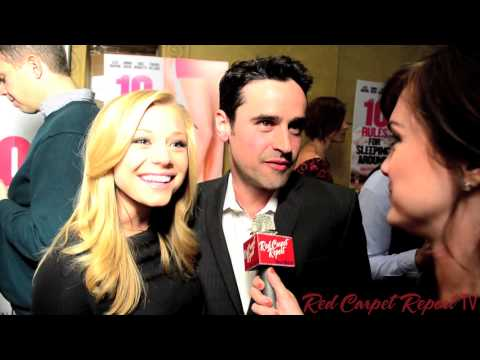 Jesse Bradford at the 10 Rules For Sleeping Around Premiere @JesseBradford