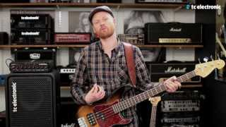 TC Electronic RH750 Bass Amp demo