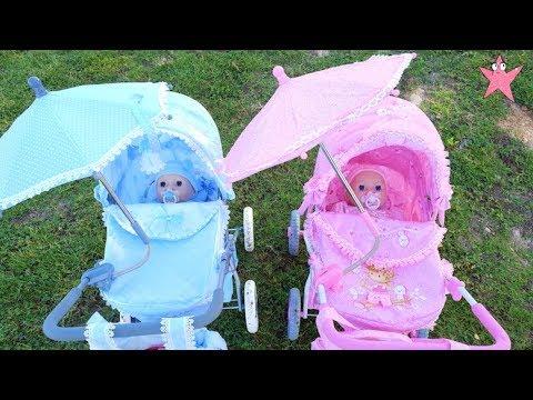 Mis muñecos Baby Annabel y Alex estrenan CARRITOS NUEVOS