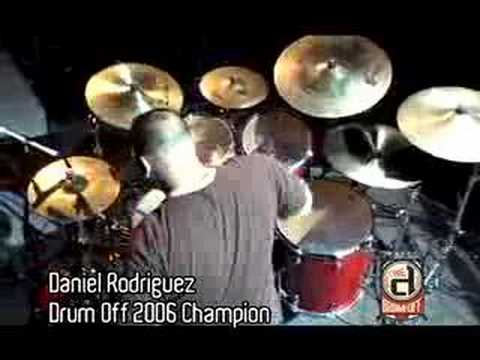 GUITAR CENTER DRUM OFF '06 CHAMPION DANIEL RODRIGUEZ
