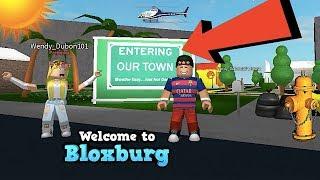 SHE HAS HER OWN TOWN! BLOXBURG | ROBLOX | FAMBAM GAMING