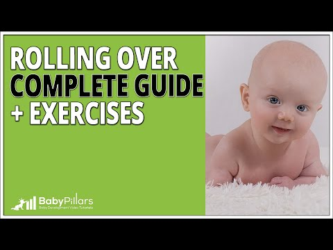 Rolling Over Baby - Complete Guide + Exercises. [2019]