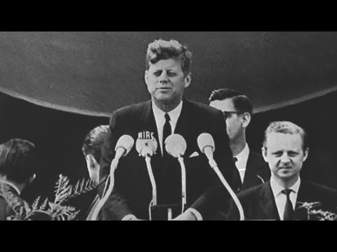 John F. Kennedy at American University and in Berlin