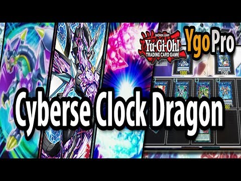 Cyberse Clock Dragon (YgoPro) - MASTER LINK & FUSION CYBERSE!!