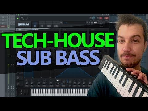 How To Make a Classic Tech-House Bass - Serum Tutorial