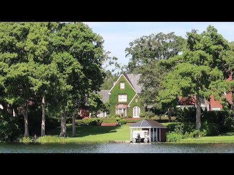 Real Florida Adventures Historic Winter Park Boat Tour Mr Roger S House Millionaire S Island Youtube