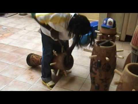 Diop Percu Dakar Senegal building traditional instruments