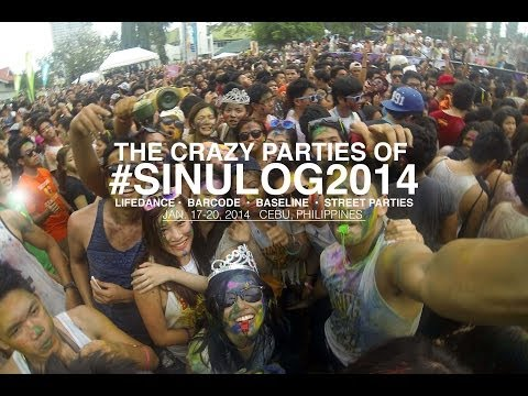 The CRAZY Parties of #SINULOG2014 | PUSH MANILA