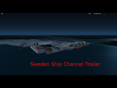 Sweden Ship Channel Trailer