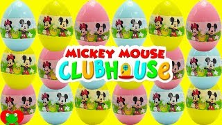 Mickey Mouse Club House Friends Surprise Eggs