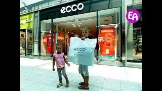 Покупаем обувь Экко в магазине ECCO ТЦ МЕГА Адыгея-Кубань. Автопутешествие Отдых в Геленджике 2016