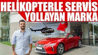 Helikopterle Servis Yollayan Marka | Lexus