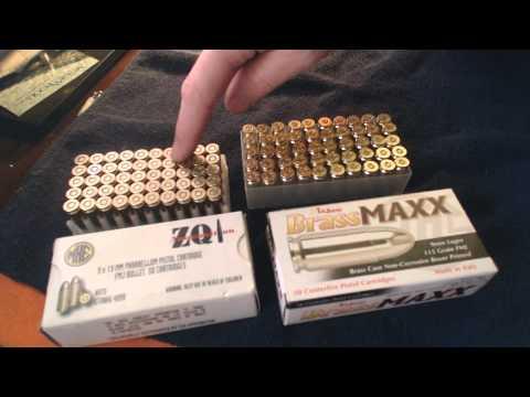 Walmart 9mm Tulammo Brass Maxx & ZQ from Turkey - 01/2014