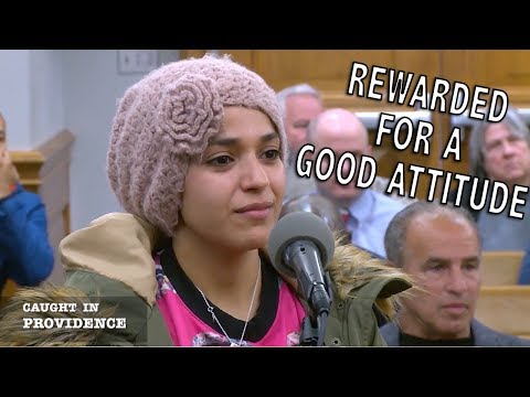 Rewarded for a Good Attitude and For The Chickens