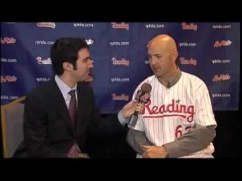 R-Phils New Manager Dusty Wathan Interviewed by Brian Seltzer
