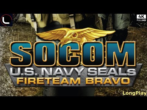 SOCOM - U.S. Navy SEALs Fireteam Bravo - LongPlay [4K:50FPS]🔴
