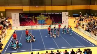 元朗區體育節2016 元朗區啦啦隊公開錦標賽 中學組 鐘聲慈