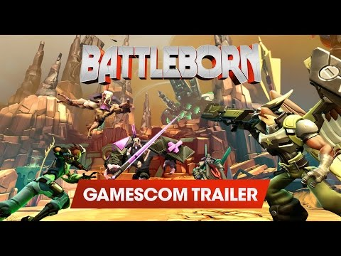 Battleborn is the best game of Gamescom 2015