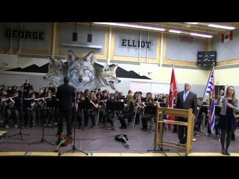 Lieutenant Governor Visit | O Canada