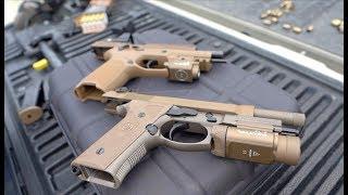Sig Sauer M17 vs Beretta M9A3