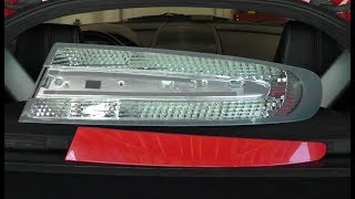 Replacing The Tail Lights On An Aston Martin V8 Vantage Youtube