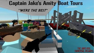 Roblox JAWS Ride (Behind The Scenes) Ep.1 Stevens II Time Laps