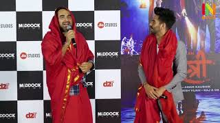 TRAILER LAUNCH OF FILM STREE WITH STAR CAST