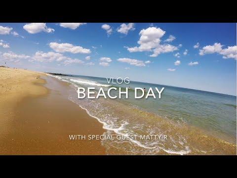 Manasquan Beach Day Vlog w/ Matty R !!!