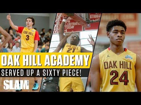 Oak Hill and Cole Anthony serve up a SIXTY PIECE!   SLAM Highlights