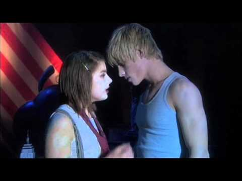 Lucy and Maxxie Kiss in the Osama The Musical - Skins