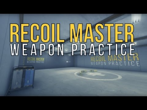 Recoil Master - A simple recoil training map, with a