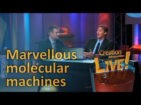 Marvellous molecular machines-- Creation Magazine LIVE! (2-12)