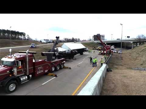 Heavy RollRollover Dad's Towing Nashville Tennessee