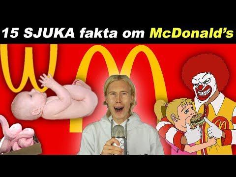 15 SJUKA Fakta Om McDonalds